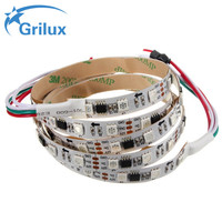 lighting decoration ws2811 30 led/m full color digital lpd8806 rgb led strip with great price