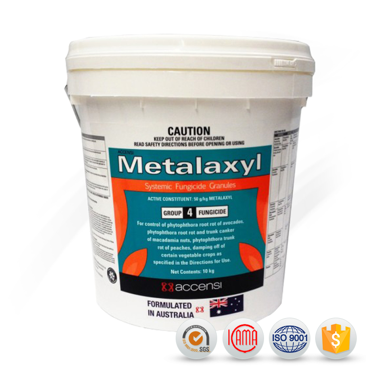Fungicides Metalaxyl 350g/l FS , 35% WP