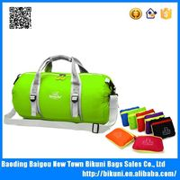 Camping waterproof nylon outdoor sports travel foldable duffel bag