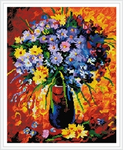 GZ428 paintboy diamond painting with flower design