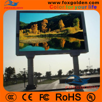 High resolution HD advertising p6 led video screen for outdoor