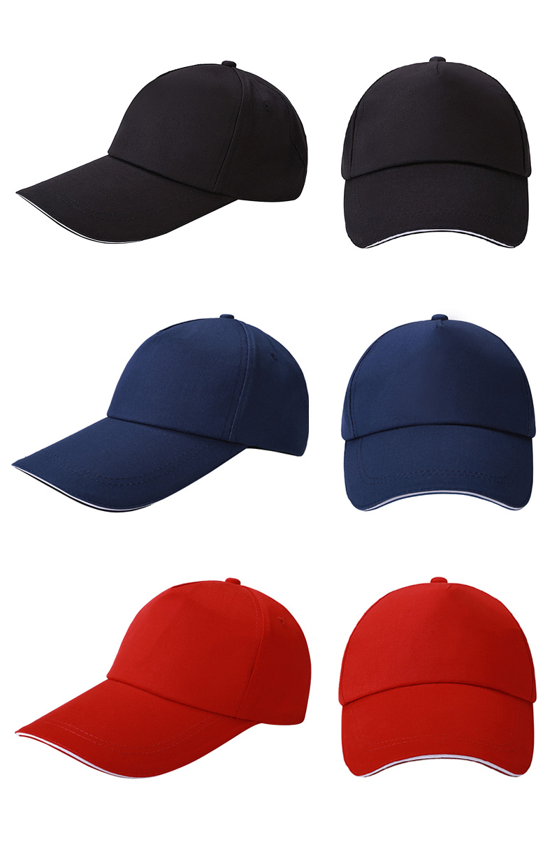 Customsize Logo Hat Cap Embroidery Logo Outdoor Sports Caps Multi-colors Factory Supply