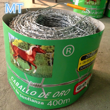 double twist hot dipped galvanized barbed wire with handle
