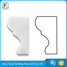 marble baseboard crown moulding polished