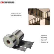 HM-30 300g carbon fibre fabric for strengthening concrete structure elemants