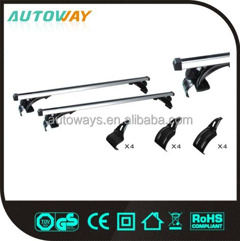 Steel White Car Removable Roof Rack