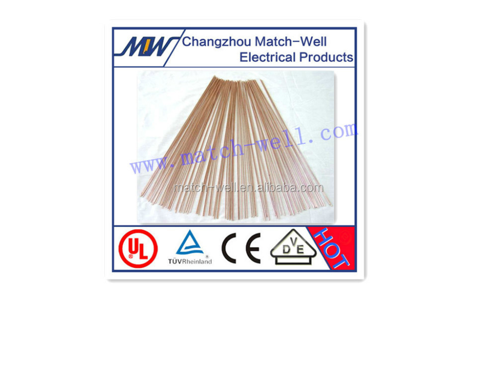 Copper-Siver brazing alloy welding rods with 34%Ag 36%Cu