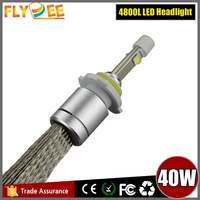2016 Auto parts Crees 40W 4800lm super white bulb 9012 LED headlight lamp bulb