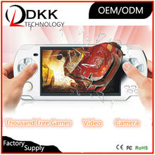Quality portable game console 4.3 inch 8GB support TF card Video Music 9999 in 1 brick game portable mp4 mp5 game player