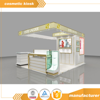 Tailored Design Wholesale Retail Mall Cosmetic Kiosk Design For Makeup and Skin Care