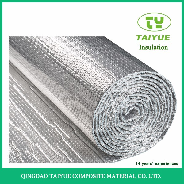 Foil Bubble Thermal Insulation Material Double Sided