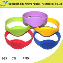 cheap custom silicone RFID wristband with environmental material wholesale price