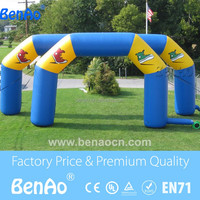 R385 Customized outdoor bike racing use inflatable cycling arch, inflatable finish line arch for sale
