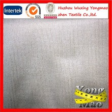 Huzhou polyester and spandex composition 1x1tubular rib knit fabric or rib knit fabric