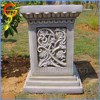 Affordable strong fiberstone/ fiberglass modern flower stand