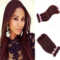 Wholesale China Factories New Style Color 99J Straight Hair