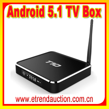 Hottest/Best Quad Core Colombia channels IPTV Android TV BOX T10 Android TV BOX Kodi 16.0 Fully Loaded OEM/ODM TV Box