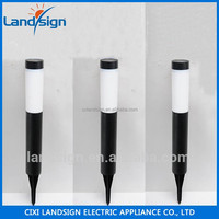 XLTD-912 Best design outdoor solar bollard light with 1*white LED