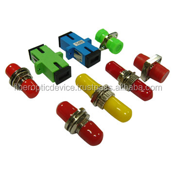 ST SC FC LC,MTRJ MU E2000 Fiber Optic Adapters Connector Mating Sleeves For Optical CATV PON FTTH Network