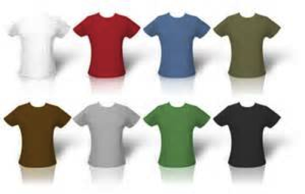 T Shirts 100% Cotton