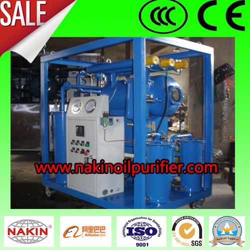 NAKIN Vacuum Transformer Oil Dehydration Plant & Filter Machine , Oil Filtration Systems