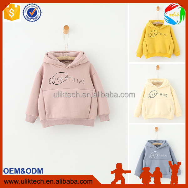 Apparel Spring&Autumn Children Kids girl hoodies Baby girls stripe fleece jackets and coats kids sweatshirt custom hoodies