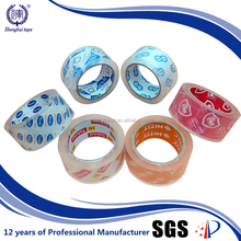 carton sealing thermal resistance acrylic crystal adhesive tape