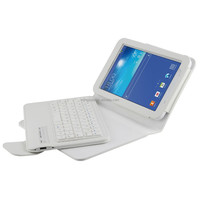 Magnetic removable bluetooth keyboard shockproof case for samsung galaxy tab 3 lite t110