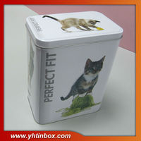 pet food tin container