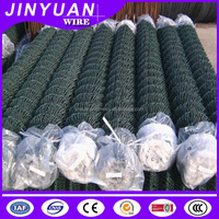 PVC Coated Chain Link Fence school ground used