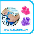 New product Rotating Ball Massage Glove 9 steel ball Body roller Massager for health care product