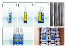 FL 300ml and 85g One component Acetoxy Silicone Sealant for Large Glass Panel with factory price , fast cure , RTV