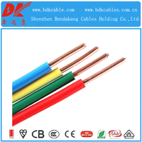 PVC insulated home and construction 6 awg copper wire