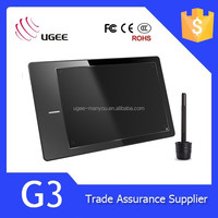 "Ugee G3 9"" screen size drawing tablet"