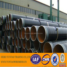 Hebei yuntao trading company carbon steel pipe welded & seamless, 3PE 2PE coated PU thermal insulation pipe