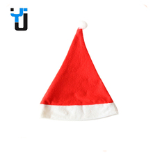 New Arrival Design Colorful Plush Christmas Santa Claus Hat