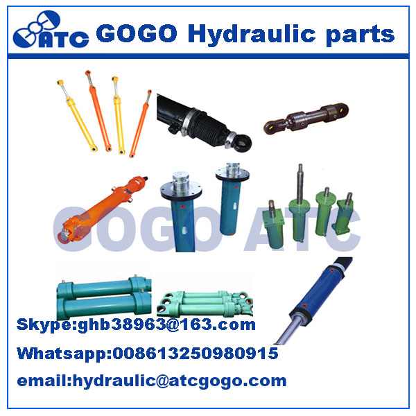 two stage hydraulic cylinder