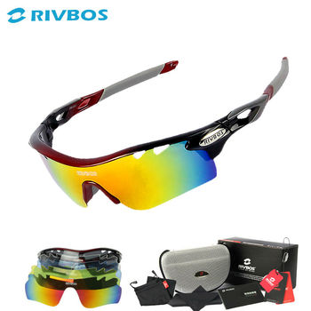 Superior scratches resistance polarized sport sunglasses