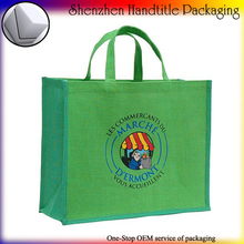 shopping jute tote bags wholesale