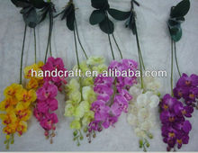 2 branches Orchid flower artificial