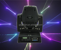 450mW RGB 15kpss DMX ILDA Animation Mini Moving-Head Laser light