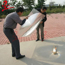 Custom acrylic plano concave big fresnel lens for Solar Collectors