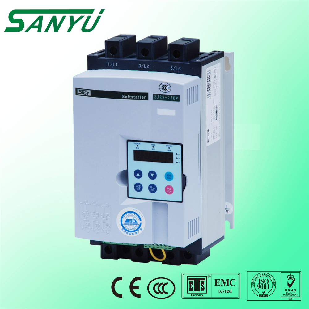 SJR2-2000 series economical power saving motor soft starter 380v