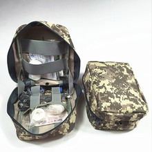 Custom widely used camouflage first aid kit/Jungle First Aid Pack/Tactical Medical Pouch