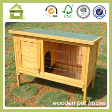 SDR10 Single Fir Wood Rabbit Penthouse Hutch