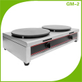 Gas Fast Food Restaurant Equipment Crepe Pancake Maker (Snack Machine)