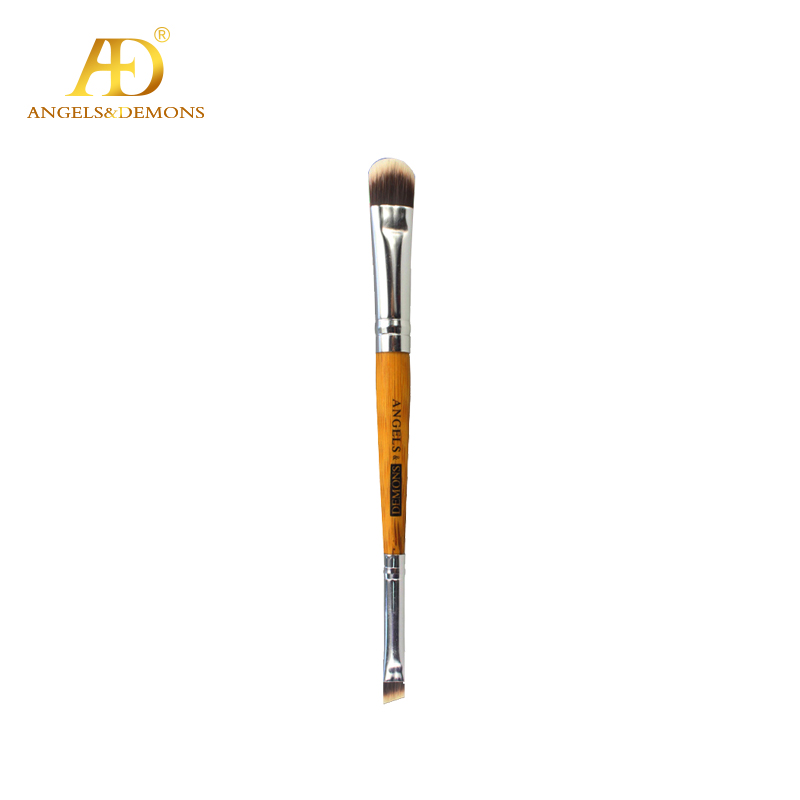 Fashion Bamboo Handle & Synthetic Hair Double Head brush