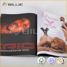 magazines design and printing manufacturer