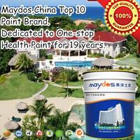 Maydos waterproof exterior latex paint company names