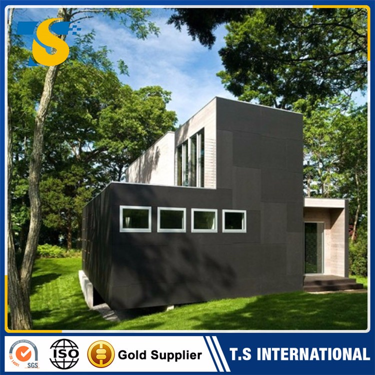 European standard Fast construction luxury welded prefab container house